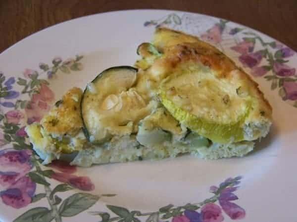 Zucchini Squash Frittata