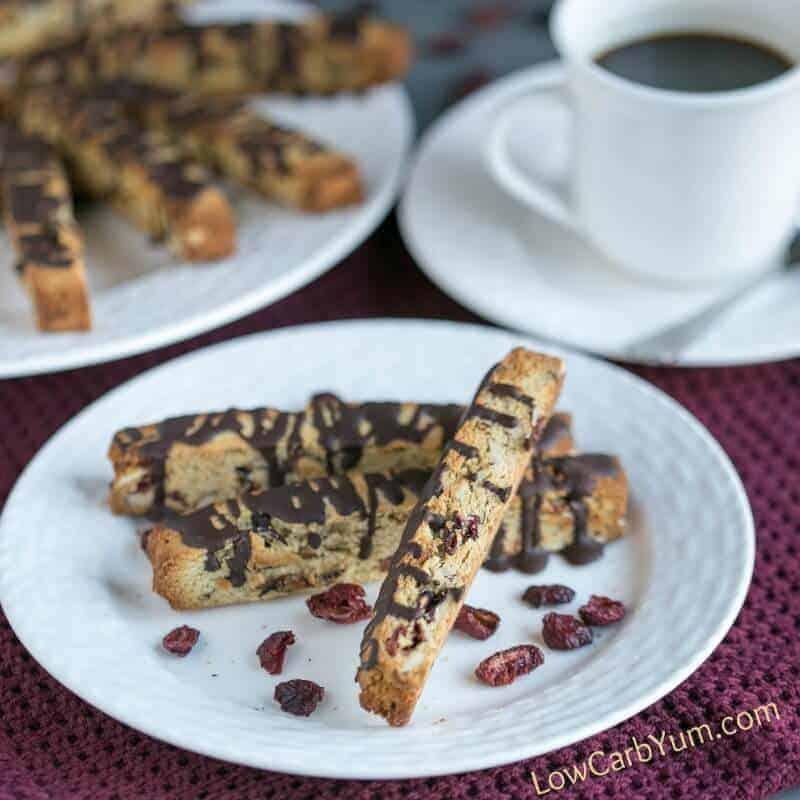 Cranberry Almond Biscotti Cookies – Gluten Free