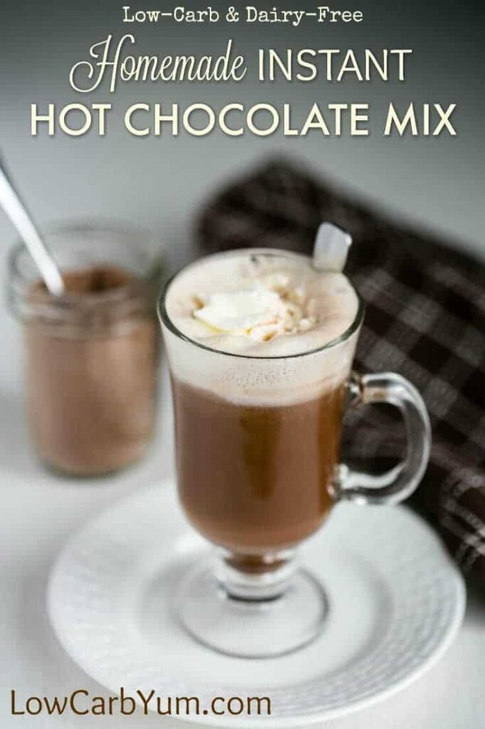 Low Calorie Hot Chocolate Using Cocoa Powder