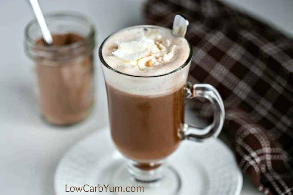homemade dairy-free instant hot chocolate mix recipe