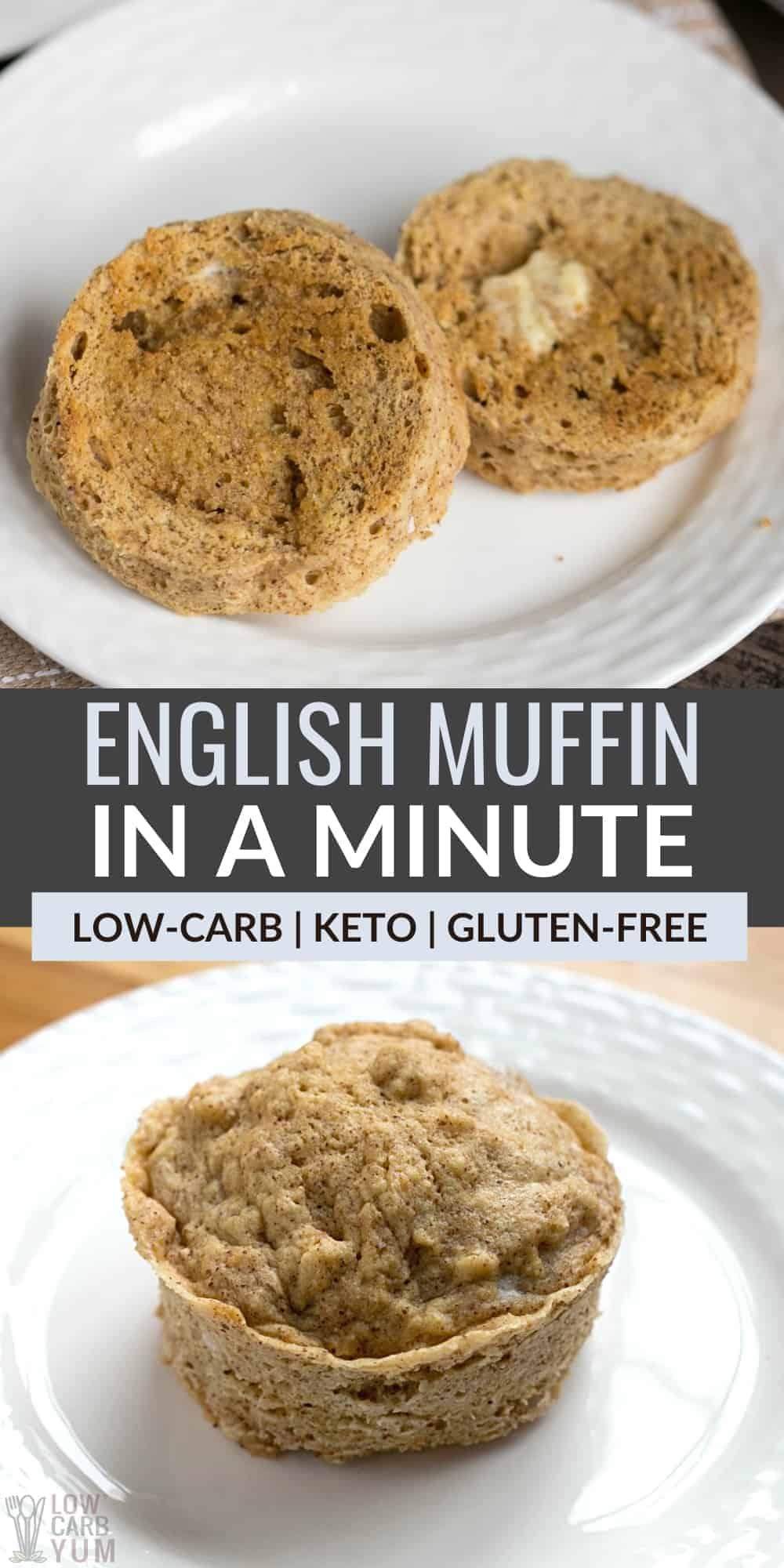 keto english mug muffin in a minute