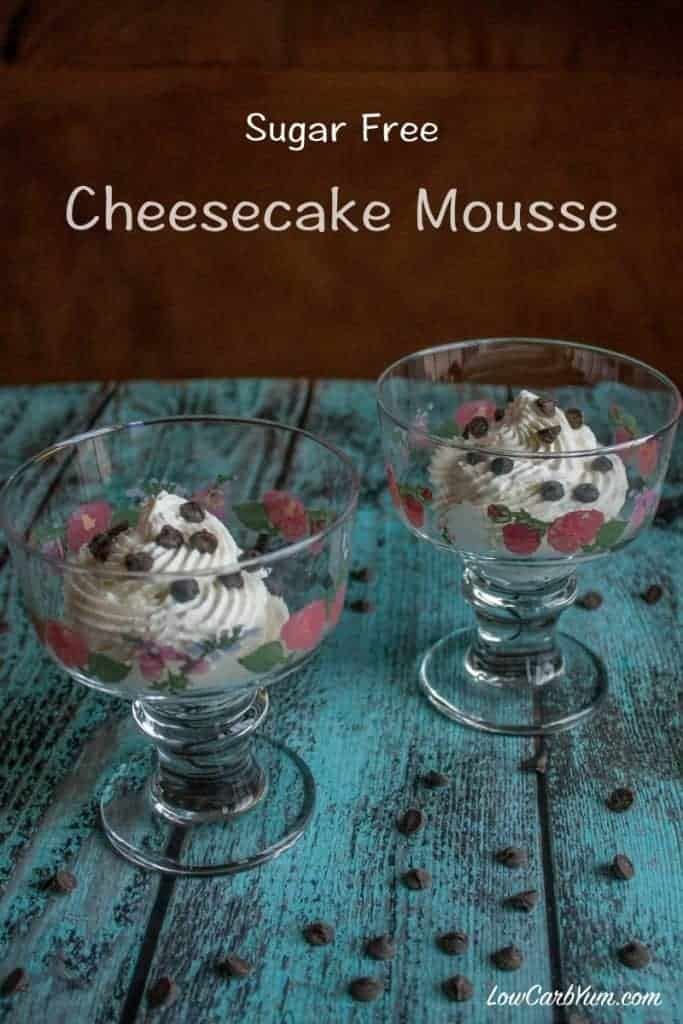 low carb cheesecake mousse recipe