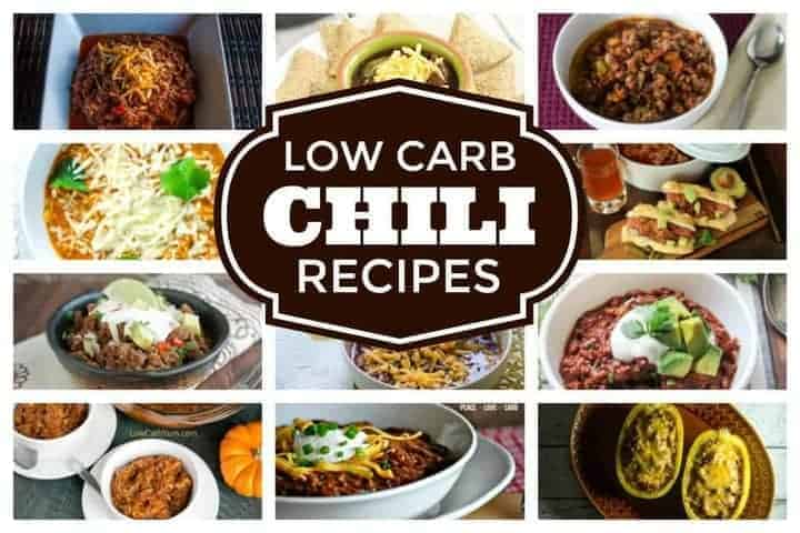 A collection of easy low carb chili recipes that are perfect for sharing. Chili is a terrific dish for the slow cooker to make for a crowd.