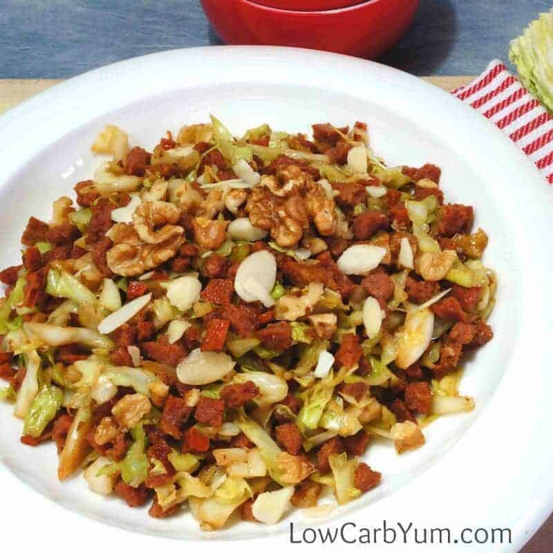 Nutty Egg Roll in a Bowl – Paleo Low Carb