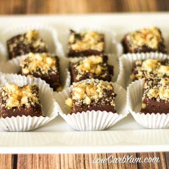 Easy fudge recipes - low carb sugar free