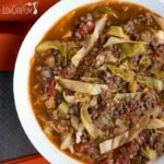 Low carb unstuffed cabbage soup recipe