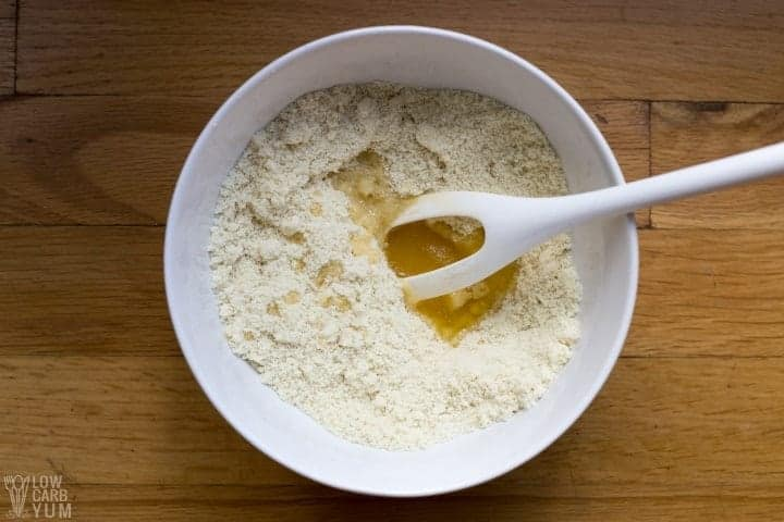 stirring in ghee