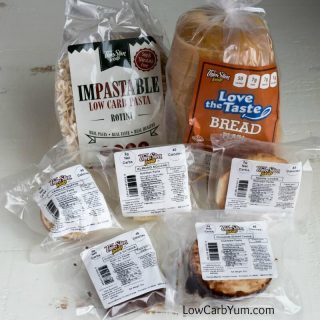 Low Carb Sweets, Pasta and Bread by ThinSlim Foods