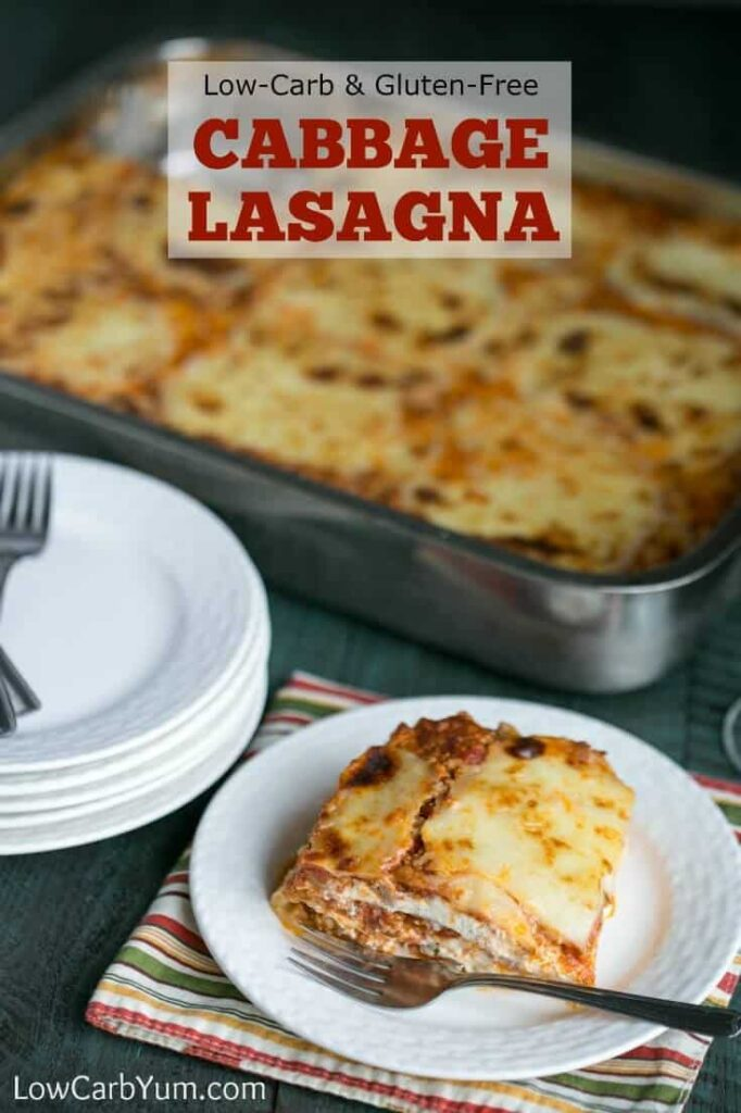 Low Carb Cabbage Lasagna Recipe