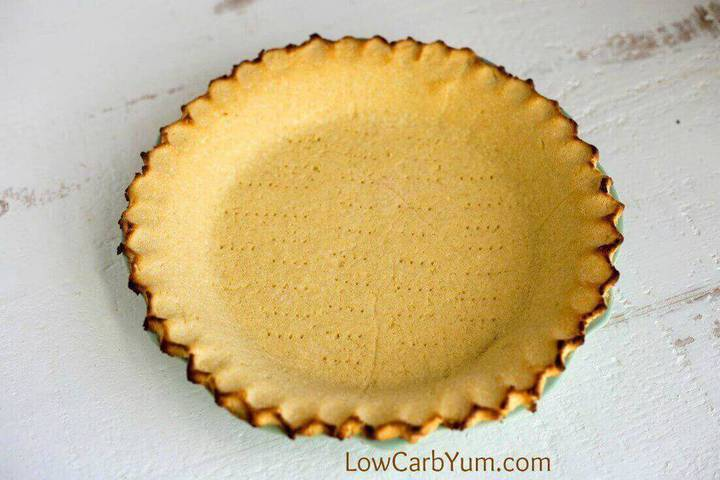 Low carb coconut flour pie crust