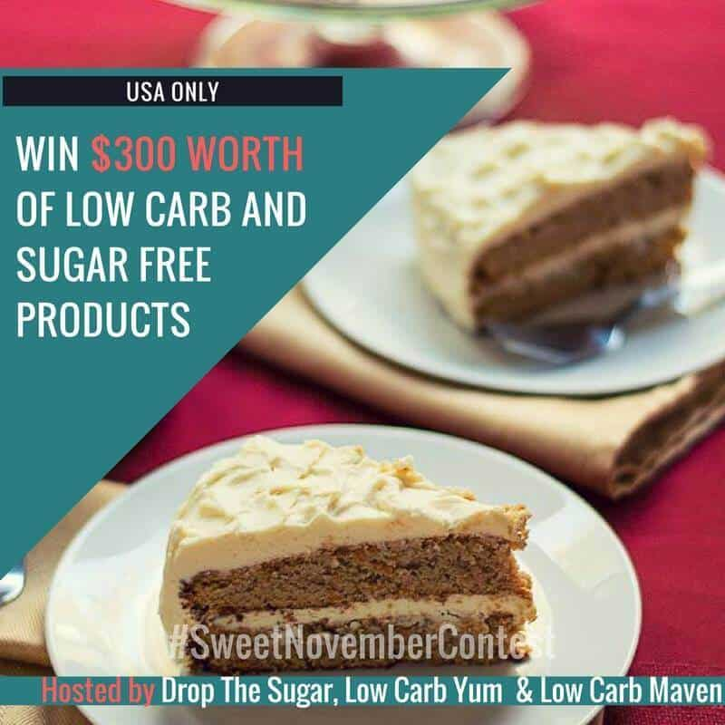 Low Carb Foods Sweet November 2016 Contest (USA)