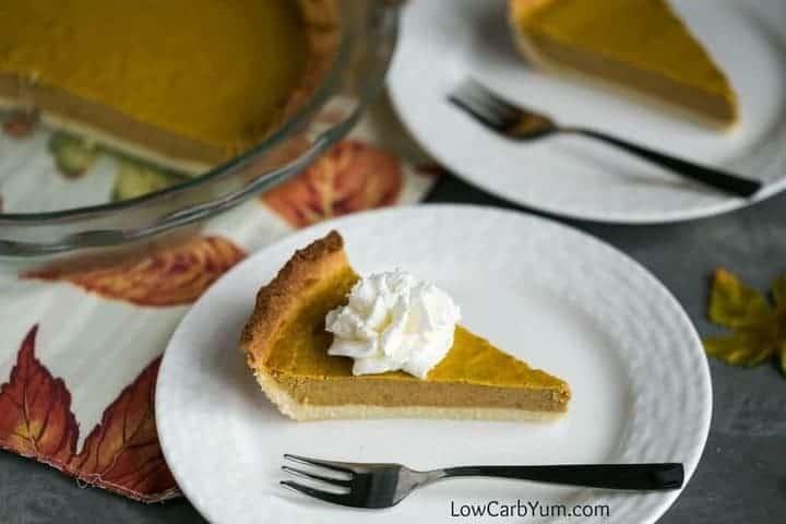 Low carb pumpkin pie recipe