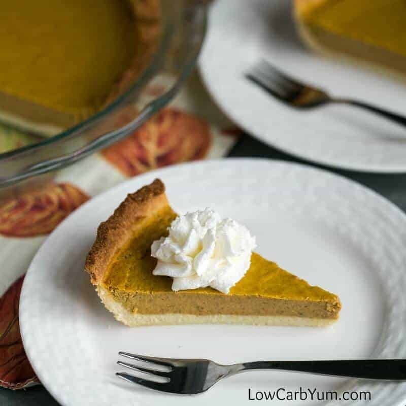 Low Carb Pumpkin Pie Recipe – Gluten Free