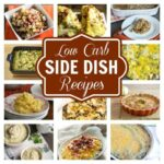 low carb side dishes recipes