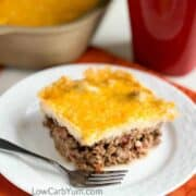 Low carb gluten free taco casserole