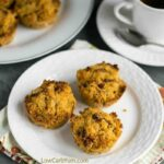 Low carb pumpkin muffins