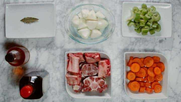Savory beef bone broth recipe