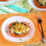 Tomato mozzarella appetizer with Spinach and Bacon