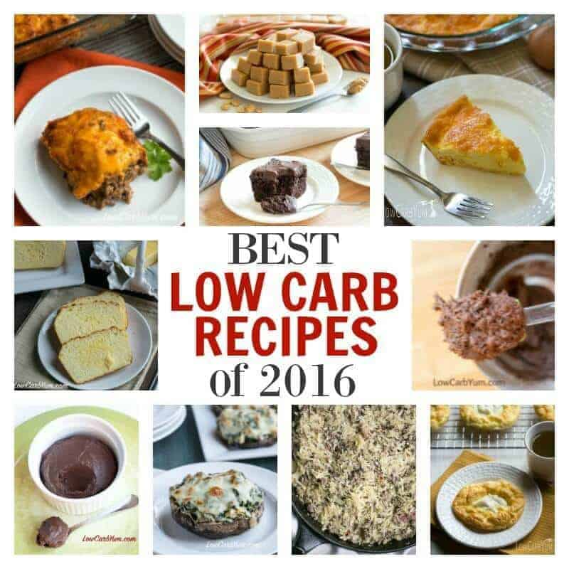 Best low carb recipes