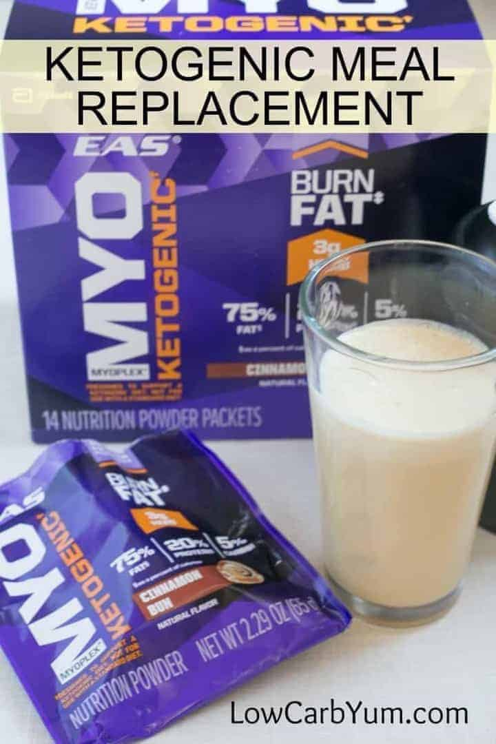A review of the EAS Myoplex Ketogenic nutrition powder packets. Just blend with water for a quick meal replacement or snack while on a low carb keto diet.