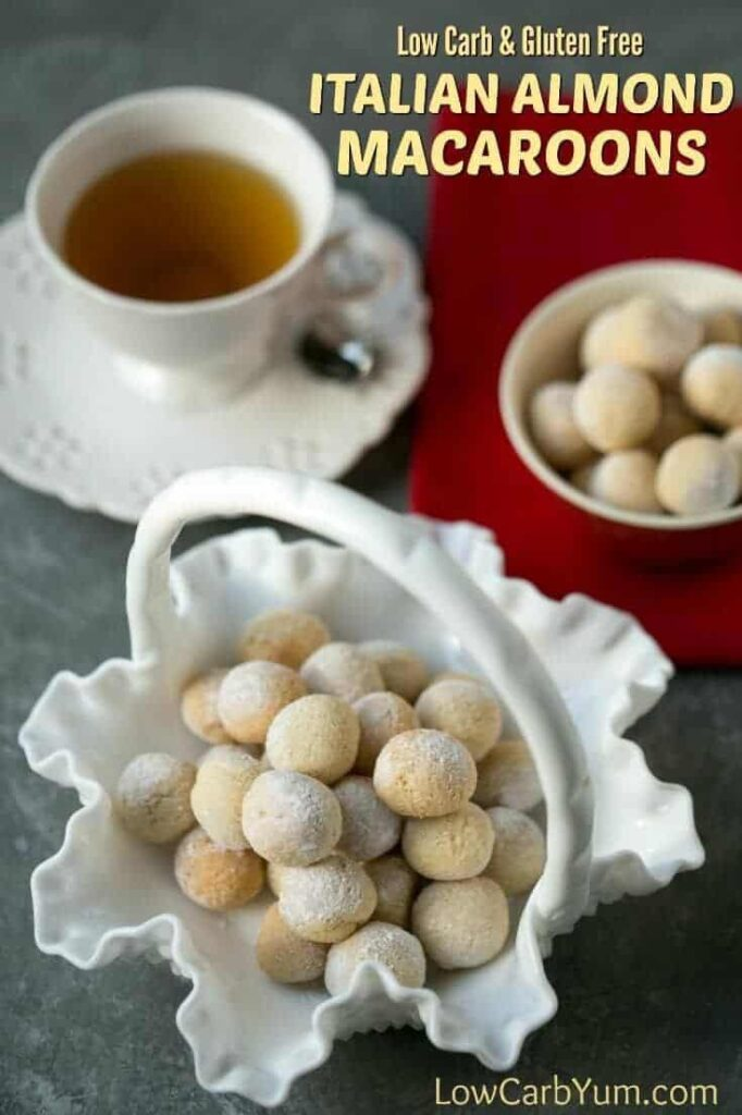 Gluten free Italian almond macaroons