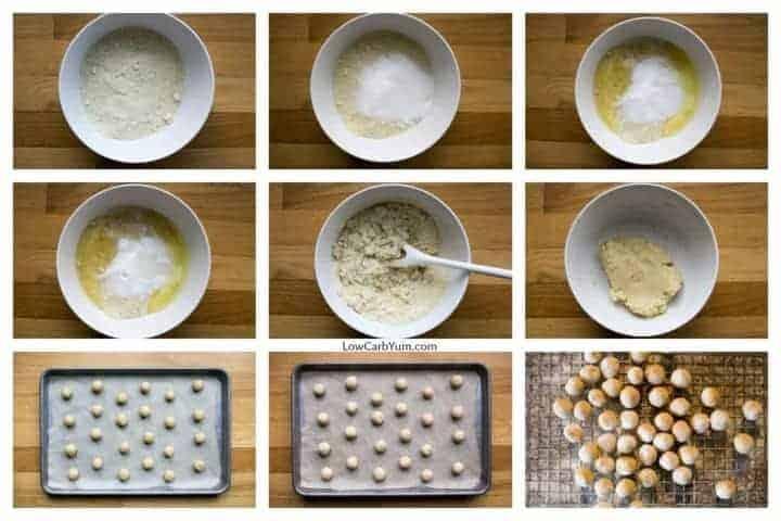 Italian almond macaroons