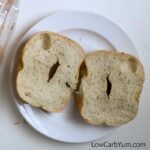 Low carb everything bagels bread snacks