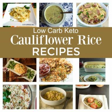 Easy cauliflower rice recipes