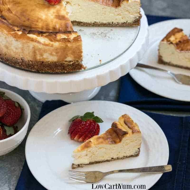 Keto Cheesecake – Gluten Free New York Style Recipe