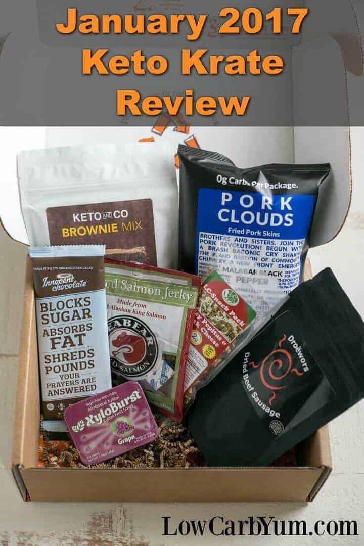 Want low carb products delivered to your door? Check out some of the yummy things subscribers get in this Keto Krate review of the January 2017 box.