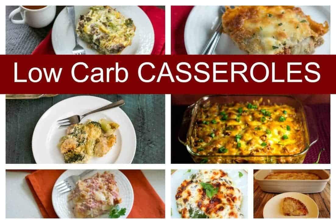 Low carb casseroles