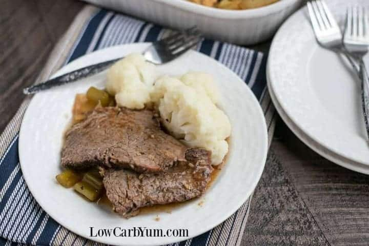 low carb crock pot roast beef