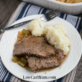 Low Carb Crock Pot Roast Beef Recipe