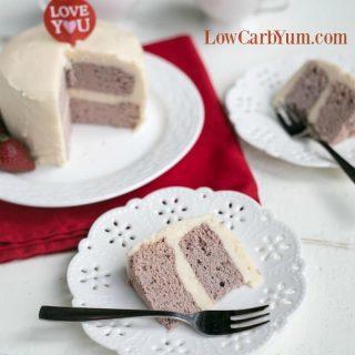 Strawberry Coconut Flour Mug Cake – Paleo