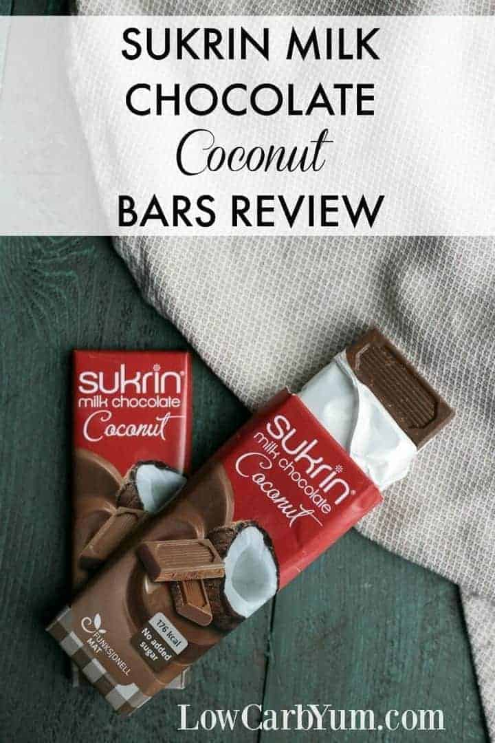 There's no need to miss out on creamy smooth low carb candy bars. The keto friendly Sukrin milk chocolate bars will make it feel like you are cheating!