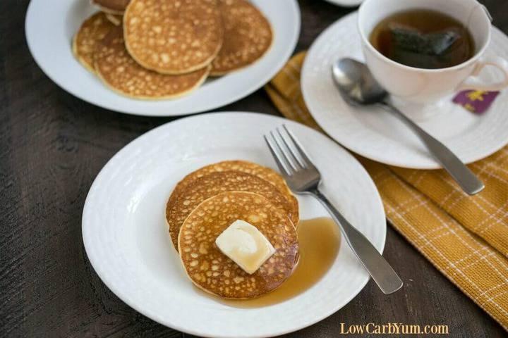 Cream cheese pancakes recipe
