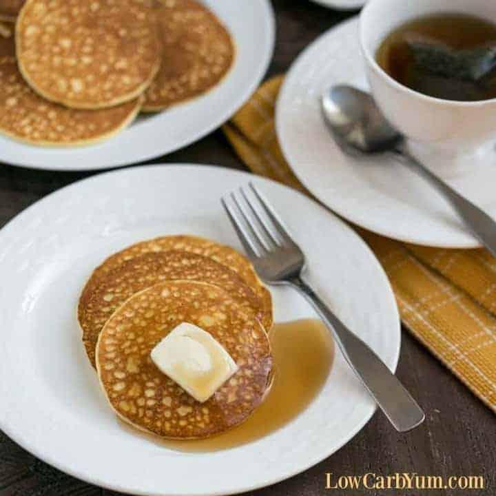 Cream Cheese Pancakes Recipe - Gluten Free | Low Carb Yum