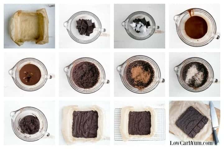 brownie recipe steps
