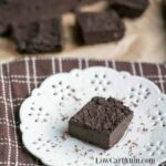 Low carb flourless paleo keto brownies