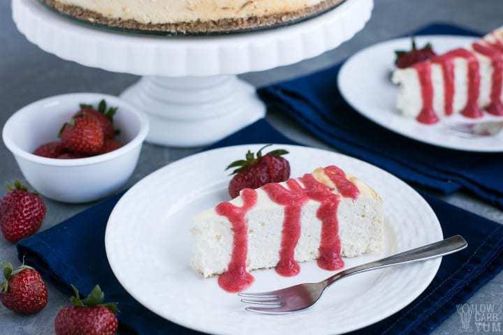 Keto Diet Cheesecake Recipe: Keto Cheesecake - A Low Carb Cheesecake Recipe