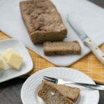 Paleo gluten free egg free bread with psyllium