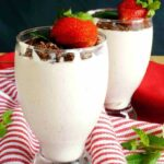 Low carb strawberry fluff dessert recipe