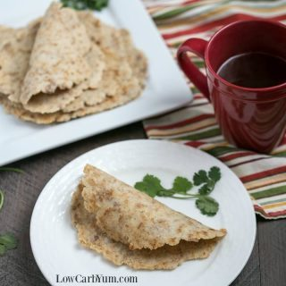 Almond Flour Low Carb Tortillas – Egg Free Keto Wraps