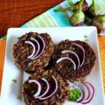 Eggplant burger recipe