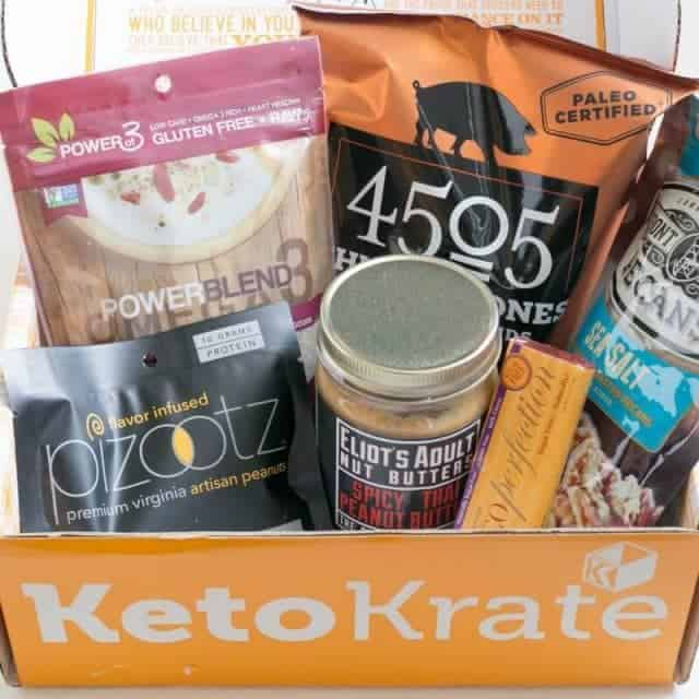 Keto Krate low carb products review