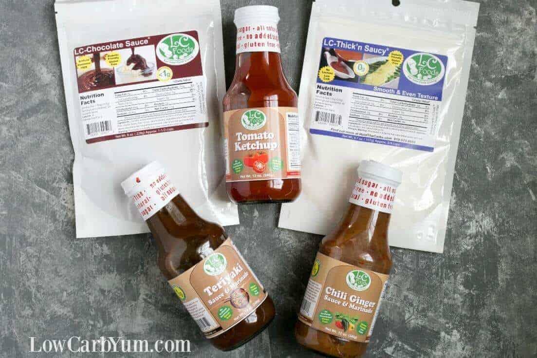 Low carb sauces