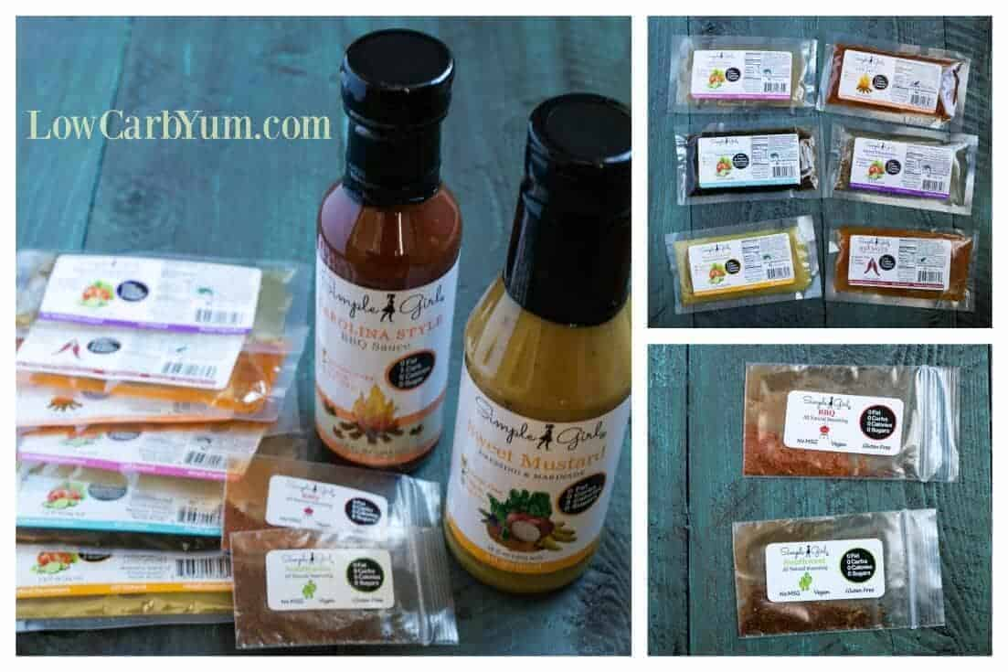 Natural low carb dressings and sauces