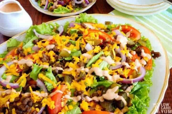 Low Fat Salads Fast Food