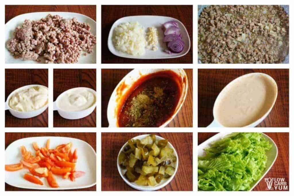 Big Mac Salad - Keto Cheeseburger Salad | Low Carb Yum