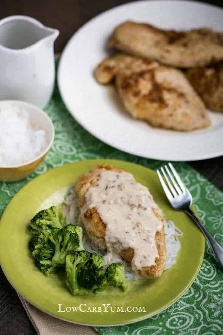 chicken piccata with sauce